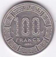 République Du Tchad 100 Francs 1990, Cupro Nickel , KM# 3 - Chad