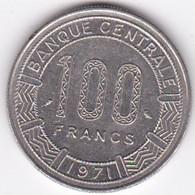 République Du Tchad 100 Francs 1971, Cupro Nickel , KM# 2 - Chad