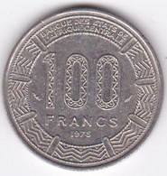 République Du Tchad 100 Francs 1975, Cupro Nickel , KM# 3 - Chad