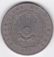 République De Djibouti 100 Francs 1977,  Cupronickel, KM# 26 - Djibouti