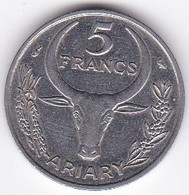 Madagascar 5 Francs 1967 , En Acier , KM# 10 - Madagascar