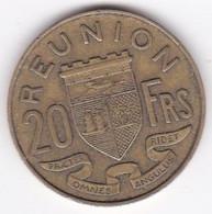 ILE DE LA REUNION. 20 Francs 1955 En Bronze Aluminium - Reunion