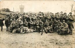 DUNKERQUE CARTE PHOTO 110 R.I. CET CASERNE JEAN BART - Dunkerque