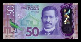 Nueva Zelanda New Zealand 50 Dollars 2016 Pick 194a Polymer SC UNC - New Zealand