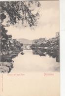 1866) MESSINA - Canale Nel Lago FARO - Tolle LITHO - Brücken - TOP ! - Messina