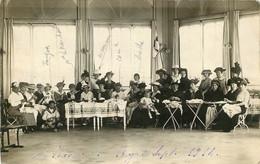 CARTE PHOTO ROYAT OUVROIR 1914 - Royat
