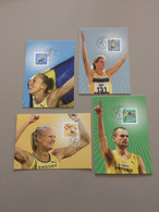 Maximum Cards Sweden Swedish Jumpers 2006 MK 305-308 Complete Set - Tarjetas – Máxima