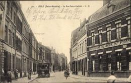 Lille GD 301 ST Maurice La Rue Saint Gabriel,carte Et Sujet Rares TBE - Lille