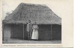 CPA CONGO FRANCAIS BRAZZAVILLE -Yves Ganga Le Cuisinier Et Son épouse Nouveau Ménage Chrétien  Col.Leray Cliché Augouard - Brazzaville