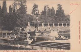 1886) FIRENZE - R. Palazzo Pitti - Vasca Sulla Terrazza Che Chiude Il Cortile Al Primo Piano - LITHO - Ver Yold ! - Firenze