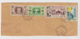 PARTIE DE LETTRE. 2 AOUT 1954. MATA-UTU WALLIS ET FUTUNA - Storia Postale