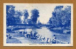"""MONTECH  (82) : """" PONT SUR LE CANAL """" - Montech"""