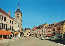70 St Saint Loup Sur Semouse La Rue CPM Edit CIM Combier Voiture Auto Renault 4L Peugeot 504 Citroen 2cv 2 Chevaux - Otros Municipios