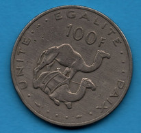 DJIBOUTI 100 FRANCS 1977 KM# 26  Dromadaires - Djibouti