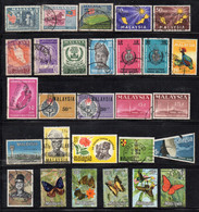 BIGX48 -  MALAYA , Lotto Misto Di Francobolli Del Paese - Federation Of Malaya