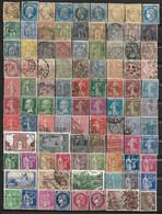 Fg273 France Collection De Plus De 800 Timbres Oblitérés, Tous Différents - Collections