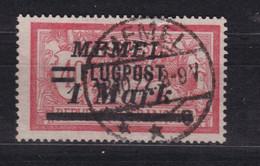 Memel Flugpostmarke Michel 99 Gestempelt - Klaipeda