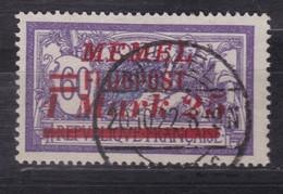 Memel Flugpostmarke Michel 100 Gestempelt - Klaipeda