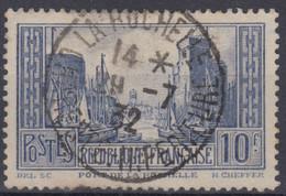 FRANCE : PORT DE LA ROCHELLE TYPE II OUTREMER N° 261d SUPERBE OBLITERATION - Usados