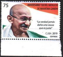 Cuba. 2019. 6516. Gandhi, Indian Politician. MNH. - Zonder Classificatie