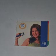 Honduras-(HN-TIG-REF-0004/4)-girl Holdinga Mobile-(7)-(L10)-(1/9/2010)-(016952467394)-used Card - Honduras