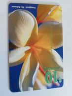 BAHAMAS $10,- CHIPCARD   FRANGIPANI- THE  BAHAMAS  **5090** - Bahamas