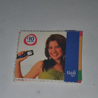 Honduras-(HN-TIG-REF-0004/6)-girl Holdinga Mobile-(9)-(L10)-(1/9/2010)-(344098945743)-used Card - Honduras