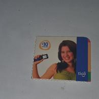 Honduras-(HN-TIG-REF-0004/7)-girl Holdinga Mobile-(10)-(L10)-(1/9/2010)-(879700060130)-used Card - Honduras
