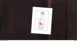 Belgie Erinno E102 OCB 3€ RR Medaillon Leopold I Monarchie - Commemorative Labels