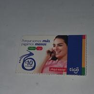 Honduras-(HN-TIG-REF-0006)-porque Somos-(11)-(L10)-(1/4/2010)-(805929535686)-used Card - Honduras