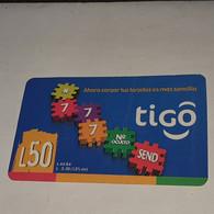 Honduras-(HN-TIG-REF-0024B)-Ahora Cargar Tus-(12)-(L50)-(Card With Crease)- (1/2007)-(842312010333)-used Card - Honduras