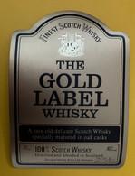 19020 - The Gold Label Whisky  Douglas McKay Glasgow - Whisky
