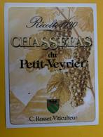 19032 - Chasselas Du Petit-Veyrier 1990 C.Rosset - Other