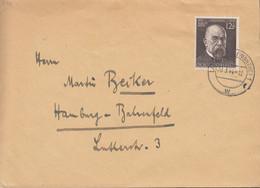 DR  864 EF, Auf Brief Mit Stempel: Landsberg (Warthe) 30.3.1944, Robert Koch - Cartas