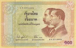 THAILAND P. 110 100 B 2002 UNC - Thailand