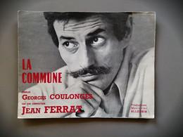Partition  Productions Musicales Alleluia La Commune Jean Ferrat 1971 - Scores & Partitions