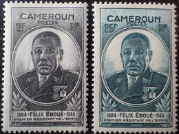 R2452/675 - 1945 - GOUVERNEUR-GENERAL EBOUE - COLONIES FR. - CAMEROUN - N°274 à 275 NEUFS* - Unused Stamps