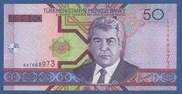 TURKMENISTAN - P.17 – 50 MANAT 2005   UNC  Prefix AA - Turkmenistan