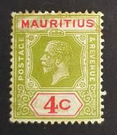 1926-1934 King George V, Mauritius, Maurice, Great Britain Colonies, Used - Mauricio (...-1967)