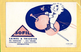 BUVARD : Laine A Tricoter SOFIL - Textile & Clothing