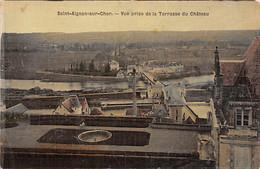 SAINT AIGNAN SUR CHER - Vue Prise De La Terrasse Du Château - état - Saint Aignan