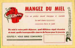 BUVARD : Mangez Du Miel - Cake & Candy