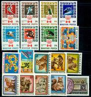 1976 Hungary,Ungarn,Hongrie,Ungheria,Complete Year Set=64 Stamps+6s/s,CV$100,MNH - Volledig Jaar