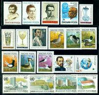 1980 Hungary,Ungarn,Hongrie,Ungheria,Complete Year Set=57 Stamps+6 S/s,CV$85,MNH - Volledig Jaar