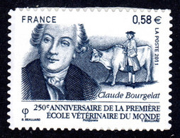 FRANCE 2011 - Autoadhésif Yvert N° 565 NEUF, Ecole Vétérinaire - Luchtpost