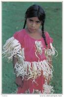 Carte Postale Honduras  Jeune Fille De La Tribu Lencra Au Festival Du Maïs Trés Beau Plan - Honduras