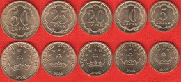Tajikistan Set Of 5 Coins: 5 - 50 Diram 2006 UNC - Tajikistan
