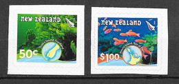New Zealand 2008 MiNr. 2478 - 2479  Neuseeland Scuba Diver Corals Fishes  Marine Life 2v MNH** 3.00 € - Nuovi
