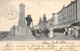BLANKENBERGHE - La Digue - Le Monument DE BRUYNE Et LIPPENS - Blankenberge