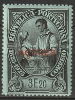 Azores 1925 Sc 257  MH* - Azores